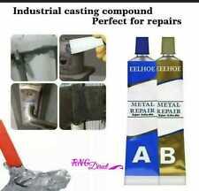 More details for 65g industrial heat resistance cold weld metal repair paste adhesive a&b gel uk