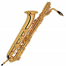 Baritone saxophone Eb Key Woodwind Instrument Case Mouthpiece Reed