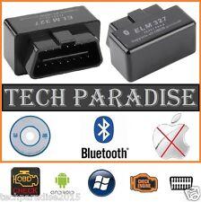 Interface Valise diagnostic diagnostique ELM327 HUD OBDII Bluetooth *Noir* + CD