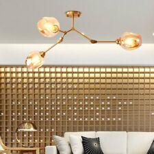 3 Lights Molecular Branch Chandelier Ceiling Lamp Fixture Indoor Home Lighting
