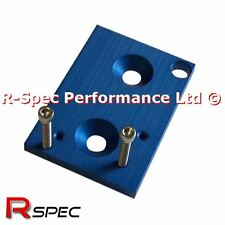 Blue 3 Port Solenoid Bracket - Turbo Boost Controller MAC Turbosmart Gizzmo AEM