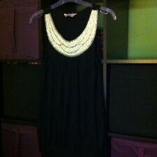 BN Black Dressy Beaded Top 14