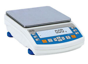 Radwag PS 6000/R2 Precision Lab Balance,Auto  CAL,Compact Scale 6000g x 0.01g