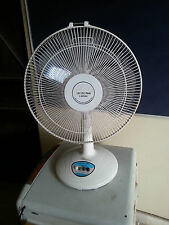 RAJIVIHAAN 12V Solar DC Table FAN - 25 Watt, 3 Speed Oscillating