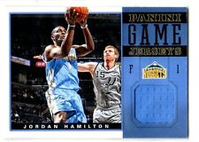 1X JORDAN HAMILTON 2012-13 Panini #47 JERSEY RELIC NMMT