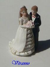1 couple de mariés résine 4830 n°1, figurine de mariage