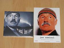 JOE ZAWINUL - FACES & PLACES - MARIA JOAO - RICHARD BONA + FARBFOTO - NEU+OVP
