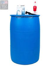 55 Gallon Barrel Purified Water Storage Kit Augason Farms Emergency NEW