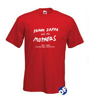 Frank Zappa and the Mothers Est.1964 California, retro style Tshirts Men