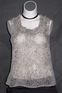 NEW The Avenue Light Sheer Sleeveless Ruffle Blouse Floral Top 14/16 18/20