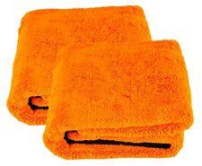 2x LIQUID ELEMENTS Orange Baby XL Trockentuch Mikrofasertuch 800 GSM 90 x 60 cm