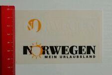 Aufkleber/Sticker: Norwegen mein Urlaubsland (27061638)