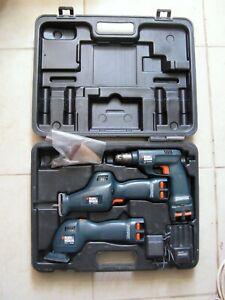 Black and Decker Versapak Cordless Combo - Drill, Angle Sander, Jigsaw, Charger