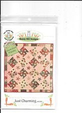 BUNNY HILL DESIGNS-JUST CHARMING QUILTING PATTERN.