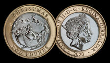 NEW !!!!!  2 POUNDS  2020  GIBRALTAR CHRISTMAS !!! PRE ORDER