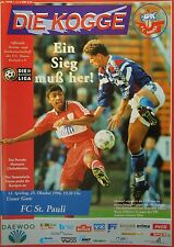 Programm 1996/97 FC Hansa Rostock - FC St. Pauli