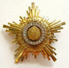 g427 ROMANIA Communist Order of the Star RPR 2nd class FOR LADIES - SMALL SIZE