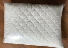 Pottery Barn Classic Belgian Flax Quilt Ivory King Linen Diamond No Shams