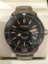 Christopher Ward C60 Reloj Automático Vintage Trident Pro 600 Ss Nuevo 43 mm