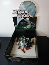 Star Trek Pvc Figures - Point of Sale Box - 1991 Hamilton Gifts