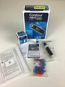 Contour Next One Blood Glucose Monitoring System.  Open Box.