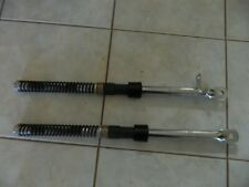 HONDA z50A mini trail front fork tubes with brake cable mount one side