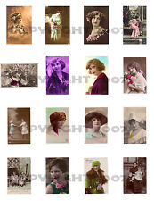Ephemera Images Collection Vols 1-4 on 2 CDs~Victorian & Vintage Images~FLAPPERS