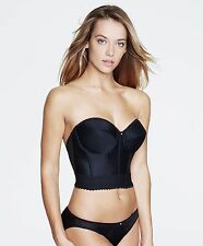 Dominique Bra Backless Longline Style 6377 Size A-DD NWT BLACK