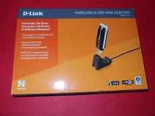 D-Link DWA-140 Netzwerkadapter Wireless USB Mini Adapter Wi - Fi