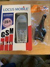 Sony Ericsson Cell Phone Locus Mobile