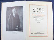 CHARLES DARWIN*THE MAN & HIS WARFARE*JOHN MURRAY*LIFE/BIOGRAPHY/BOOKS/EVOLUTION