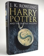 Adult 1st Edition Harry Potter & The Deathly Hallows J K Rowling Hardback