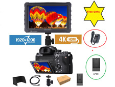 """LILLIPUT 7"""" A7s 4K HDMI 1.4 30Hz Monitor F970+LP-E6 Plate + Adapter exclusively"""