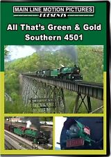All Thats Green and Gold Southern Railway 4501 DVD NEW Main Line Norfolk NS