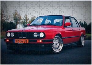 BMW E30 Sport Car  A4 JIGSAW Puzzle Birthday Christmas (Can Be Personalised)