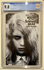 Night Of The Living Dead Edition Just A Girl CGC 9.8 NM/MT Avatar, Limit 1000