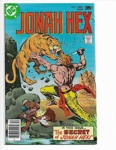 """JONAH HEX 7 - VF/NM 9.0 - """"THE SECRET OF JONAH HEX"""" (1977)"""