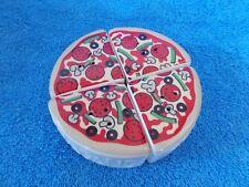 New Oci 4 Piece Pizza Oregano, Pepper, Salt & Pepper Shaker Set