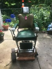Vintage Barber Chair- Koken with working hydraulics.