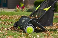 Earthwise Lsw70021 21-Inch Leaf & Grass Push Lawn Sweeper Leaf Waste Pick Up New