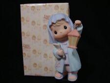 Precious Moments-Regular/Large Nativity Addition-Innkeeper Holding Lantern-RARE!