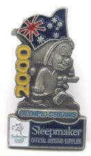 DREAMS SLEEPMAKER BED SILVER BOY EVENT SYDNEY OLYMPIC GAMES 2000 PIN BADGE #149