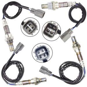 Pre-Cat + Post-Cat 4x Oxygen Sensor for 5/2000-7/2003 Toyota RAV4 ACA20/21 2.0L