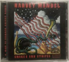 "Harvey Mandel ""Snakes And Stripes"" Blues CD Clarity CCD-1013"