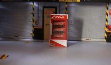 frigo coca cola  1/18 pour diorama atelier garage distributor  drink