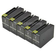5 für HP 932 XL black Officejet 6100 Eprinter 6700 Premium 6600 Druckerpatronen