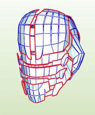 Dead space 2 helmet templates for EVA Foam build set