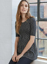 Isabella Oliver Maternity Short Sleeve Casual Top Small 2 US 4 6 Polka Dot Print