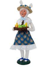 Byers' Choice Carolers Easter Bunny Woman 2211D New 2018