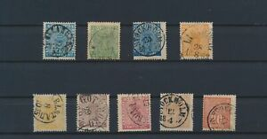 LO05077 Sweden coat of arms classic lot used